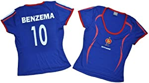 Buy France #10 BENZEMA Women Jersey Size Small by Optimus