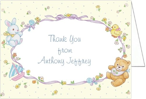 Baby Toys Montage Baby Thank You Cards - Set Of 20 front-1010104