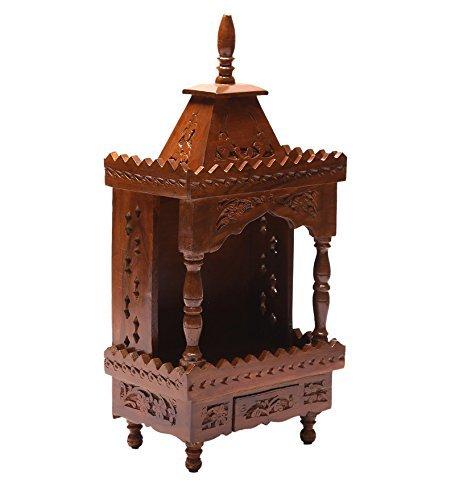 Shilpi Wooden Temple / Mandir / Puja Ghar / Mandappam Part 56