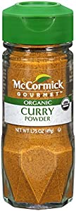 McCormick 100% Organic, Curry Powder, 1.75-Ounce Unit (Packaging  May Vary)