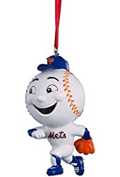 Kurt Adler 3-3/4-Inch Mr. Met Mascot Ornament