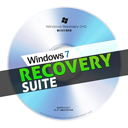 Windows System Recovery Disc / Restore Windows 7 and Vista - 32bit/64 bit - Repair PC & Laptop