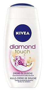 Nivea Diamond Touch Creme-Öl-Dusche, 4er Pack (4 x 250 ml)