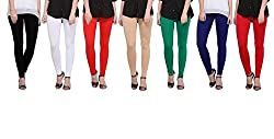 leggings for womens (Pack of 7 by Bully)