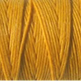 Waxed Irish Linen-Bright Autumn Yellow. Sold per 50 gram spool-approx 90-100 yards of 4-ply