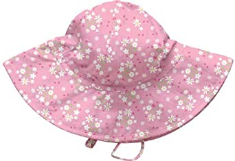 i play. Solid Brim Sun Protection Hat,Toddler / 2-4 Years,Pink Posies