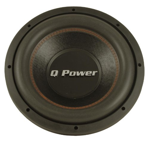 "Q-Power Qpf15 15"" 2000W Deluxe Series Dual Voice Coil Car Audio Subwoofer Sub"