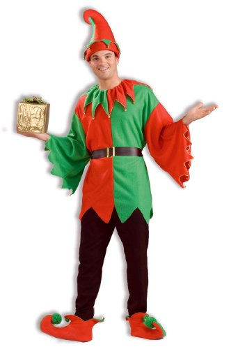 Unisex Adult Elf Costume Santa's Helper Costume 62596