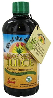 Lily of The Desert Aloe Vera Supplement, Whole Leaf, 32 Fluid Ounce