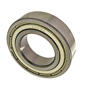 6005ZZ Shielded Bearing 25x47x12 Ball Bearings: Deep Groove Ball