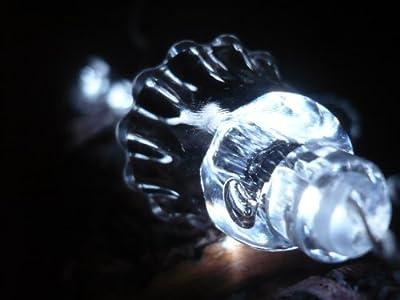 ORANGE TREE TRADE Cool White Bell LED String Lights; LED Christmas Lights; Party Lights