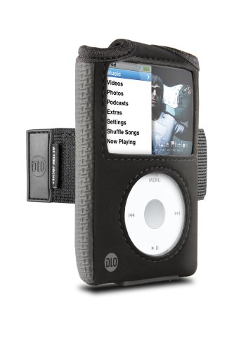 DLO Action Jacket Case with Armband for 80/120/160 GB iPod classic 6G (Black)