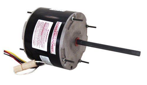 A.O. Smith FE6001F 1/3-1/6 HP, 825 RPM, 825 volts, 1.9 Amps, 48Y Frame, Ball Bearing Condenser Motor