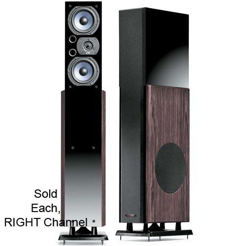 Polk Audio LSi15 Right Channel Tower Speaker (Single, Ebony)