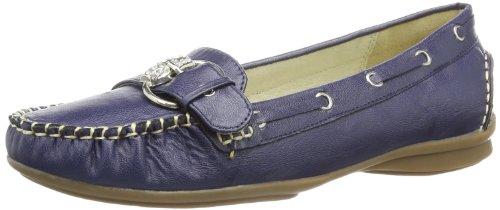 Andrea Conti Womens 0873010 Moccasins Blue Blau (dunkelblau 017) Size: 35