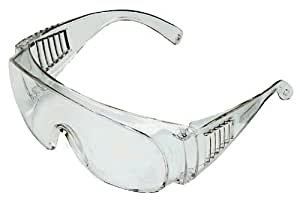 MSA Safety Works 817691 Over Economical Safety Glasses, Clear