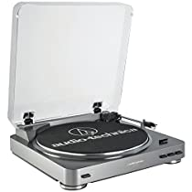 Audio Technica AT-LP60USB Fully Automatic Belt Driven Turntable with USB Port
