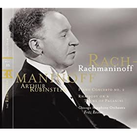 Rubinstein Collection, Vol. 35: Rachmaninoff: Piano Concerto No.2; Rhapsody on a Theme of Paganini; Prelude