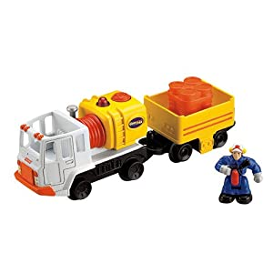 GeoTrax Lights & Sounds Vehicle with Chugger & Chandler - The Handiest Team