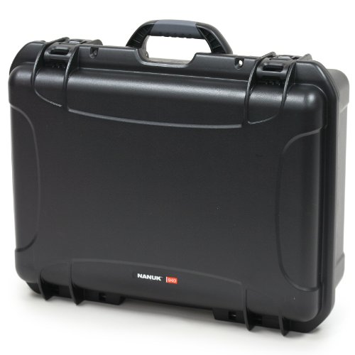 Nanuk 940 Case With Cubed Foam (Black)
