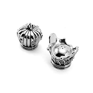 Towle His and Hers Salt & Pepper Set