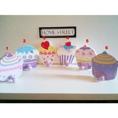 Cupcake Hooks - Wooden Cup Cake Hook Or Hanger Number 6