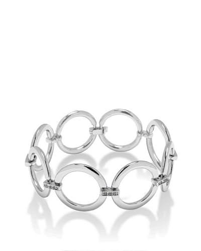 Saint Francis Crystals Braccialetto Argento Unica