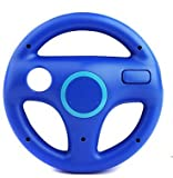 Racing Steering Wheel for Nintendo Wii Controller Remote-blue