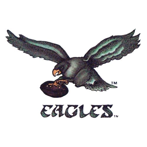 Philadelphia Eagles Team Logo Transfers Rub-On Stickers/Tattoos (3 Pack) at Amazon.com