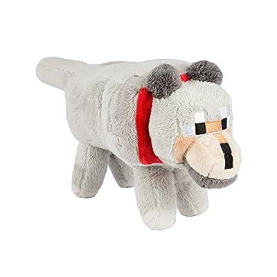 "Minecraft 15"" Wolf Plush Stuffed Animal"