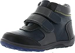 See Kai Run Orion Leather Boot (Toddler/Little Kid), Navy, 10 M US Toddler