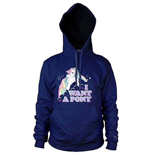 womens-my-little-pony-i-want-a-pony-navy-hoodie-large