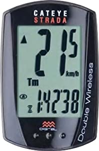 CatEye Strada Double Wireless Speed and Cadence Bicycle Computer CC-RD400DW