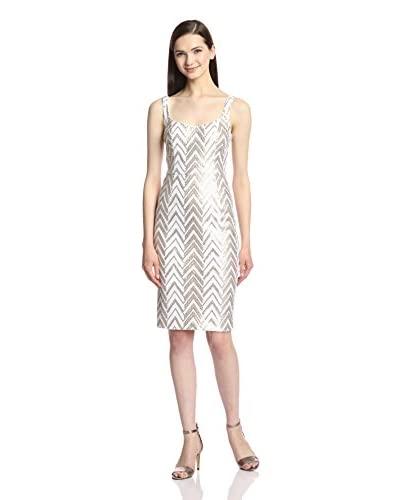 Jay Godfrey Women's Heenan Chevron Sequin Sheath Dress