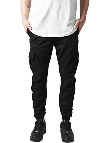 Urban Classics Cargo Jogging Pants-Mutande Uomo    Nero (Black 7) W50