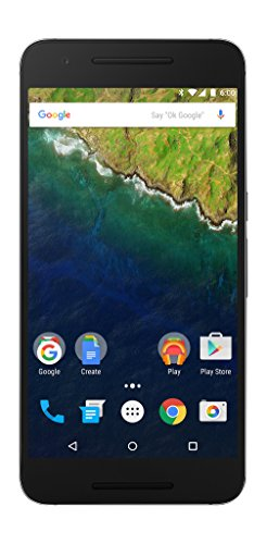 Huawei Nexus 6P - 32 GB Graphite (U.S. Version: Nin-A1) - Unlocked 5.7-inch Android 6.0 smartphone w/ 4G LTE (U.S. Warranty)