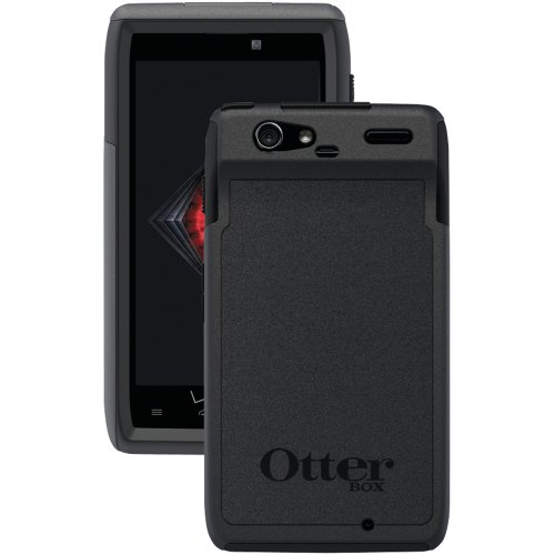 Otterbox Commuter Series Hybrid Case for Motorola Droid RAZR - 1 Pack - Retail Packaging - Black