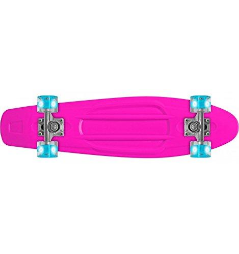 "Prohibition Lumina Wheels Skateboard Retro 22"" - Roues lumineuses"