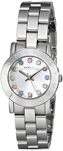 Marc by Marc Jacobs Women's MBM3217 Analog Display Analog Quartz Silver Watch