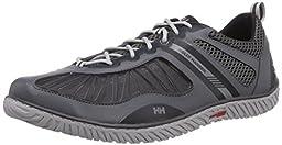 Helly Hansen Men\'s Hydropower 4 Water Shoe, Charcoal/Ebony/Antique Silver, 8.5 M US