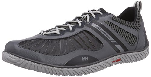 Helly Hansen Hydropower 4 - Zapatillas de deporte exterior Hombre, Marrón / Negro (964 Charcoal / Ebony / Antique), 42