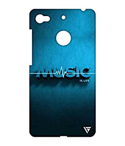 Vogueshell Music is Life Printed Symmetry PRO Series Hard Back Case for LeEco Le 1s Eco