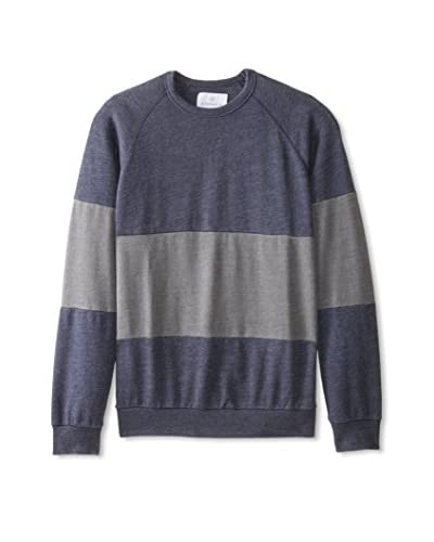 Alternative Men's Crew Neck Colorblock Pullover