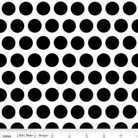 Mystique Dot White Yardage by Lila Tueller for Riley Blake Designs SKU# c3084-white