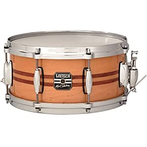gretsch drums full range snares s 0612 ms 12 inch snare drum gloss natural with. Black Bedroom Furniture Sets. Home Design Ideas
