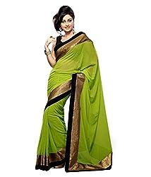 Pushkar Sarees Jacquard Saree (Pushkar Sarees_52_Green)