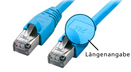 TPFNet 2m CAT.5e Premium Ethernet LAN Patchkabel Gigabit Netzwerkkabel LAN-Kabel Patch Kabel mit Knickschutztülle blau (RJ45, Cat 5e, Twisted Pair, SF/UTP geschirmt , 1000 Mbit/s)