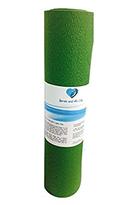 Sports and the City Yoga Mat - Eco-Friendly with Non-Slip and Durable TPE (8mm)