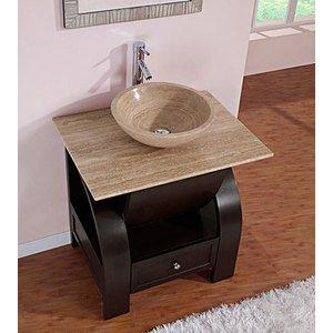 silkroad exclusive stone top modern sink. Black Bedroom Furniture Sets. Home Design Ideas