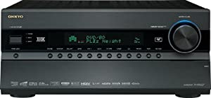 Onkyo TX-NR3007 140 Watts 9.2-Channel AV Surround Home Network Receiver (Black) (Discontinued by Manufacturer)